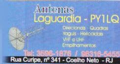 ANTENAS PY1LQ LAGUARDIA