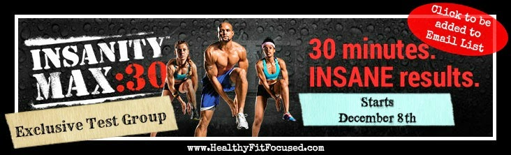 Insanity Max 30 Test Group