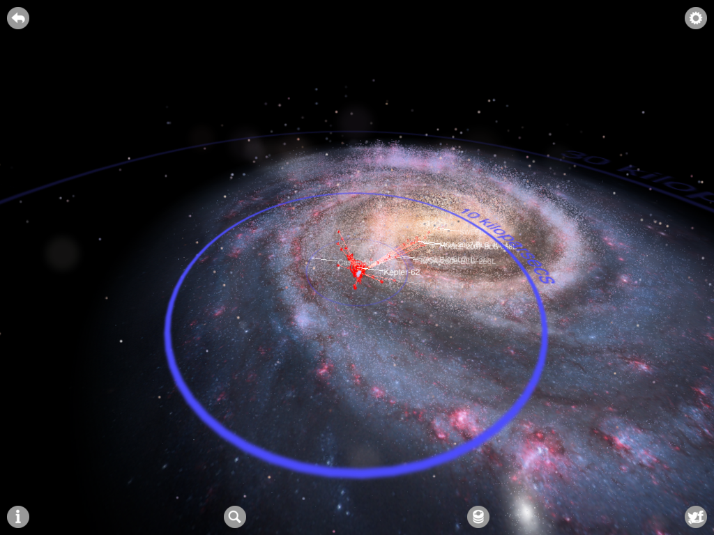 distance of milky way and the solar system - photo #21