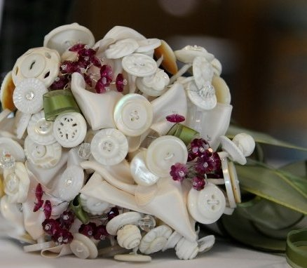 Wedding Rehearsal Button Bouquets A new bridal tradition in my family