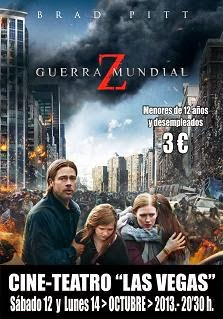Cine: Guerra Mundial Z