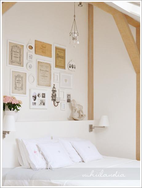 poddasze ushii - sypialnia / ushii attic - bedroom
