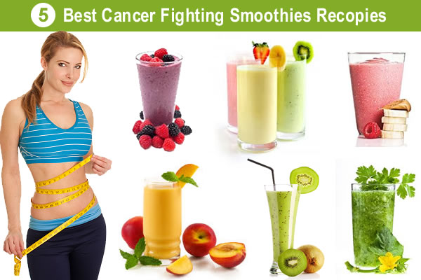 Cancer Fighting Smoothies for Colon, Lung, Breast, Liver, Prostate