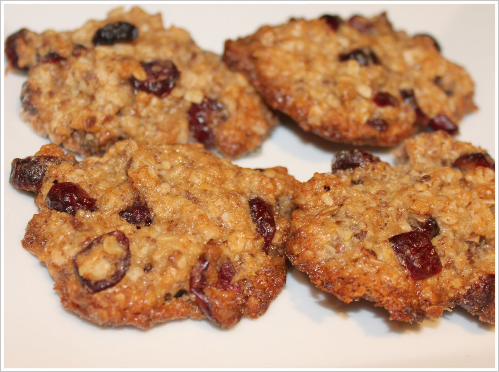 Oatmeal Cranberry Cookies! (Vegan) - Vegan Richa