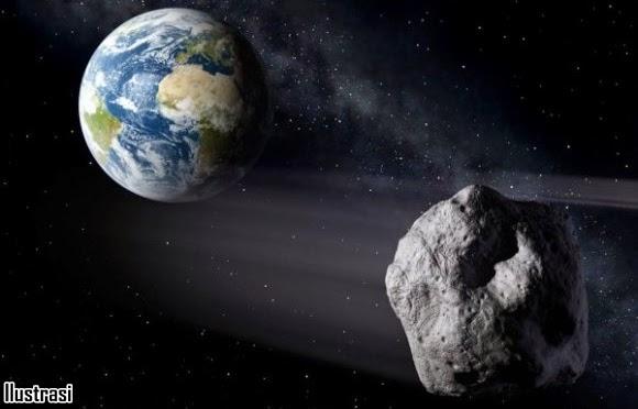 Asteroid Berdiameter 600 Meter Bakal Lintasi Bumi Akhir Januari 2015