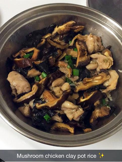 Student Mushroom Chicken Clay Pot Rice