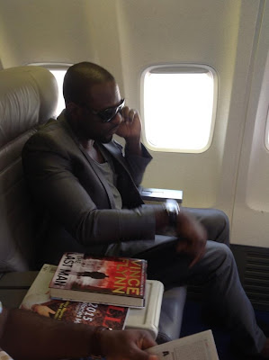 Jim Iyke Doing Private Jet Thingz