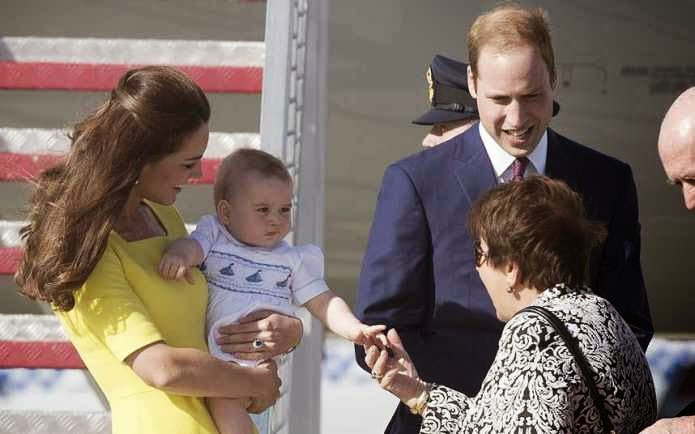 Australians Meet Prince George!!