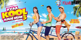 Complete cast and crew of Kyaa Kool Hain Hum 3 (2016) bollywood hindi movie wiki, poster, Trailer, music list - Tushar Kapoor and Aftab Shivdasani, Movie release date 22 January 2016