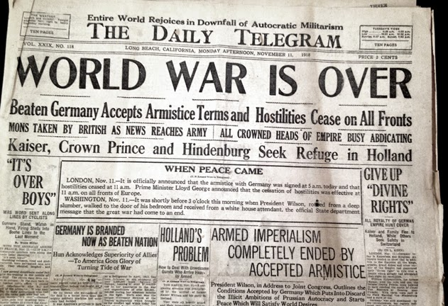 CoastConFan Blog: Centenary of WWI – But Not Many Lessons Learned