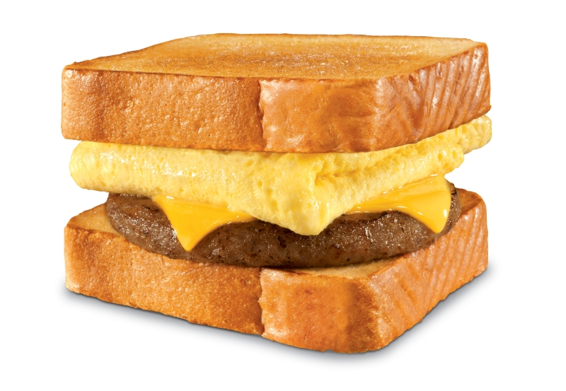 Texas Toast Breakfast Sandwiches are back at Hardee's . The sandwiches ...