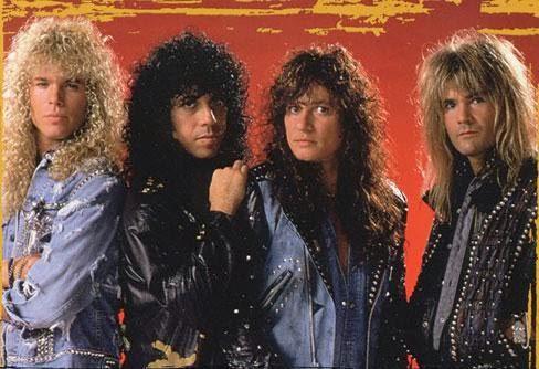 Formacion de Quiet Riot-1988