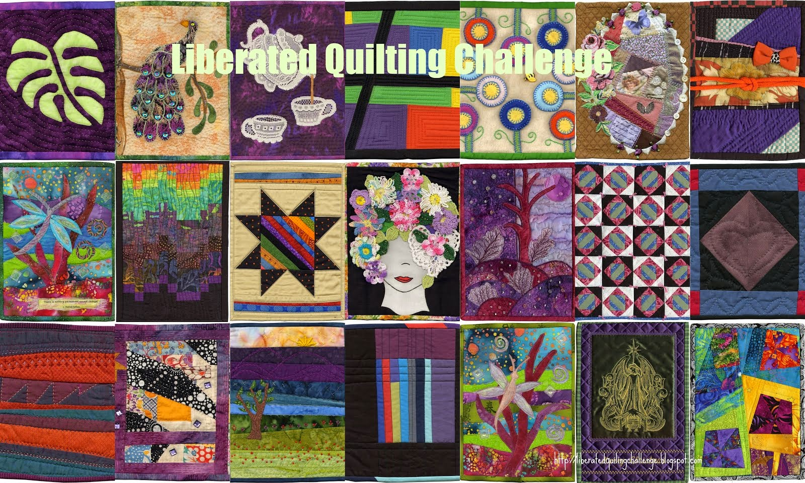 Liberated Quilting Challenge