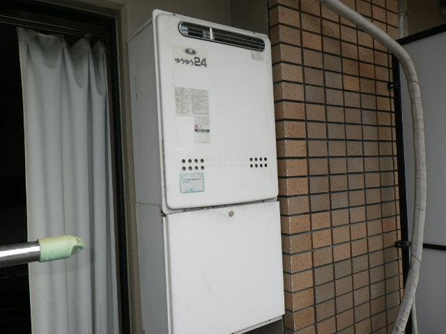 ... ガス風呂給湯器 屋外壁掛型