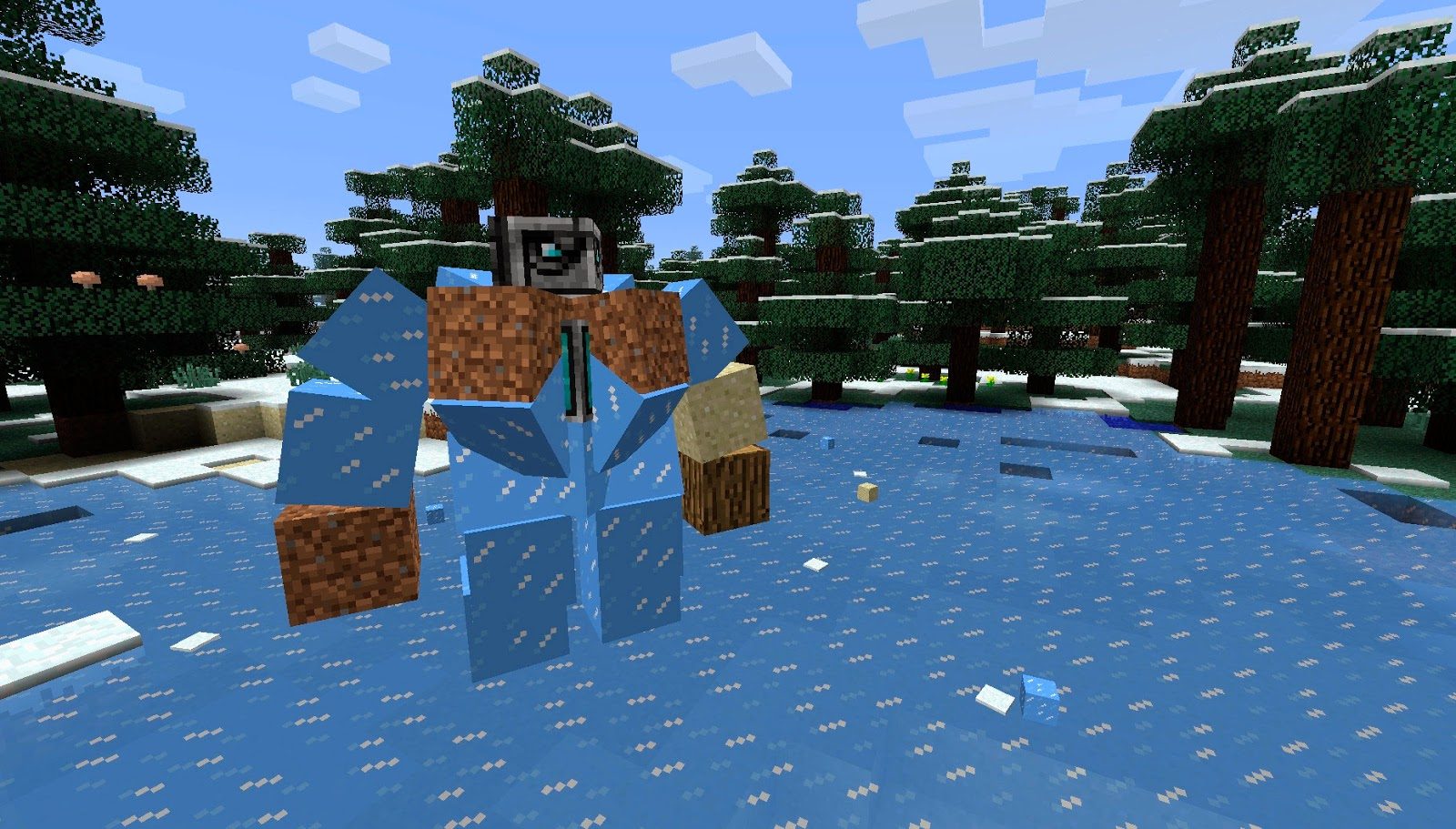 Mo' Creatures golems Minecraft mod