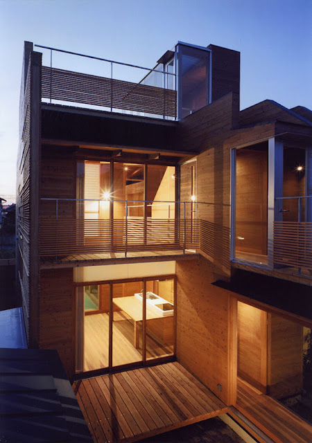 Japan Wood House 01
