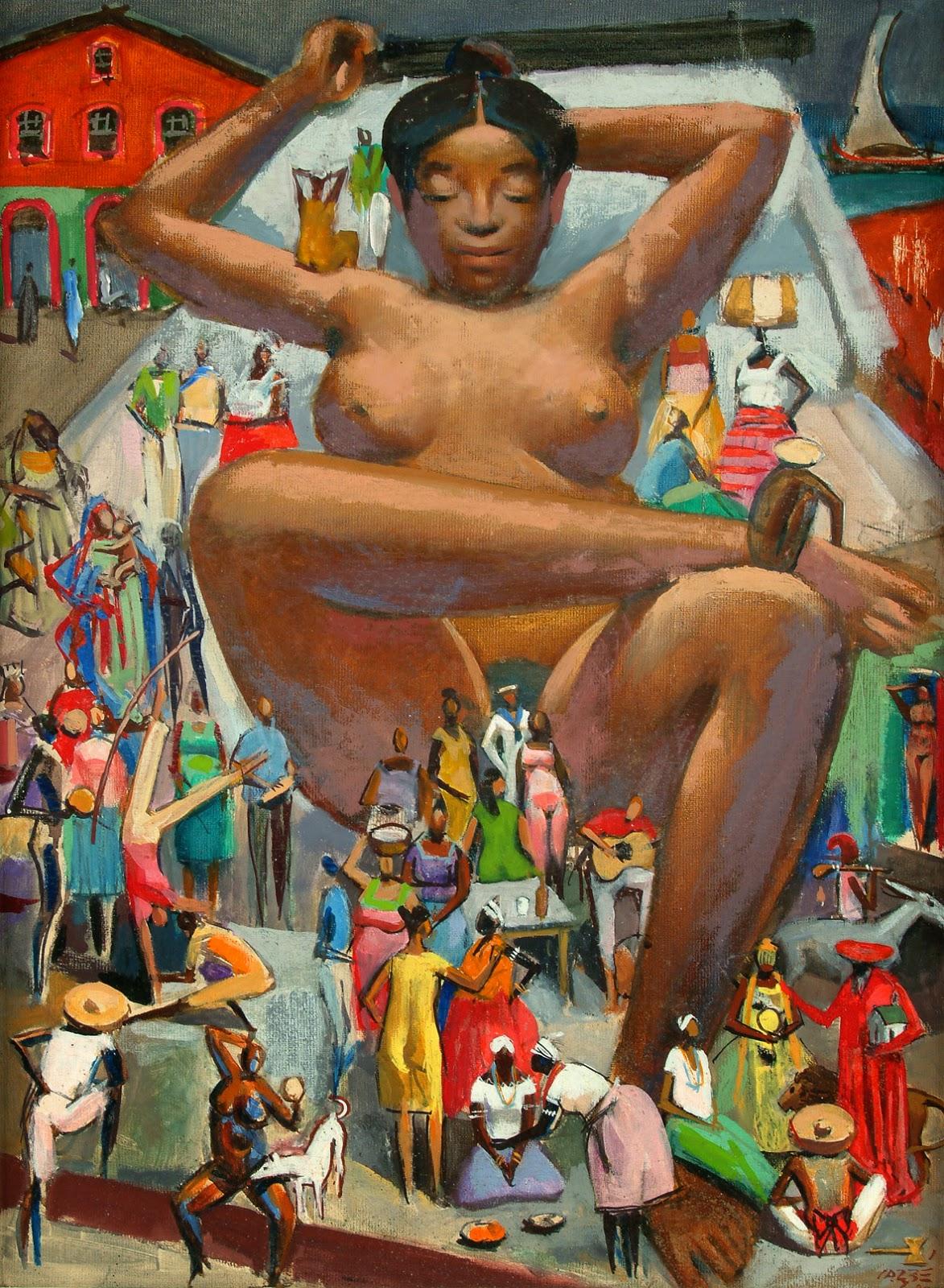 pintura de mulata