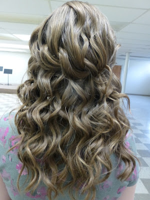 jr bridesmaid, braid, hairstyle, braid