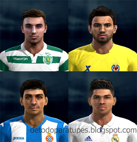 PES 2013 Mix Facepack Europe Vol.7