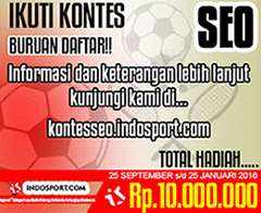 Lomba Kontes Seo Indosport 2015