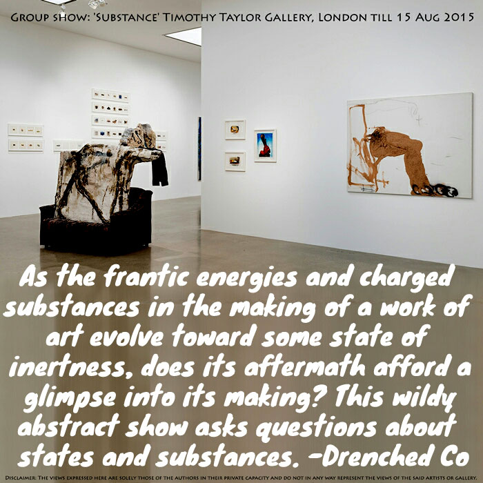 Image of Timothy Taylor gallery with exhibition review