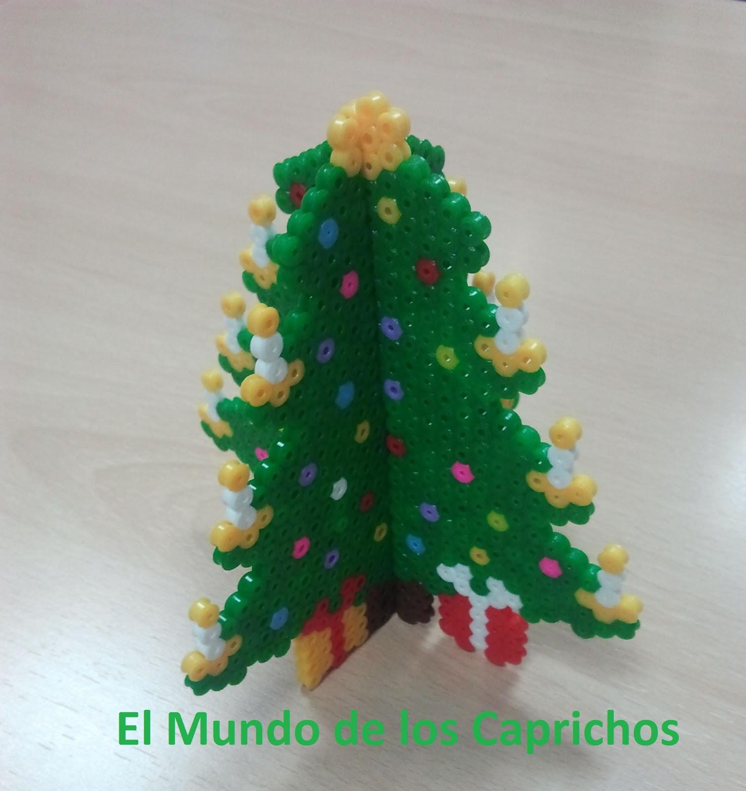 Árbol de Navidad 3D Hama | EL MUNDO DE LOS CAPRICHOS