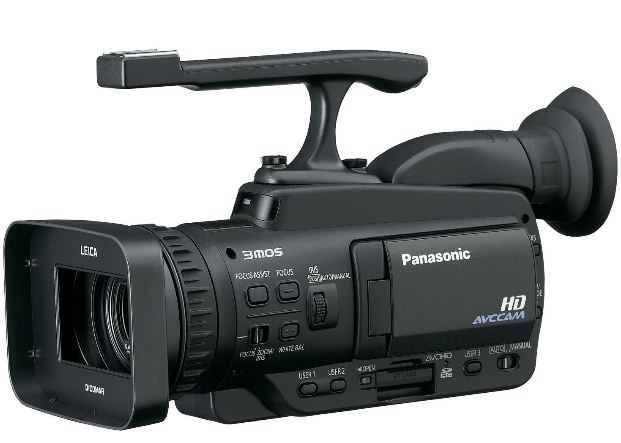 Professional video cameras Panasonic Professional AG-HMC40 AVCHD Camcorder with 10.6 MP Still and 12x Optical Zoom
