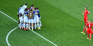 Video Gol Argentina vs Swiss 1 Juli 2014