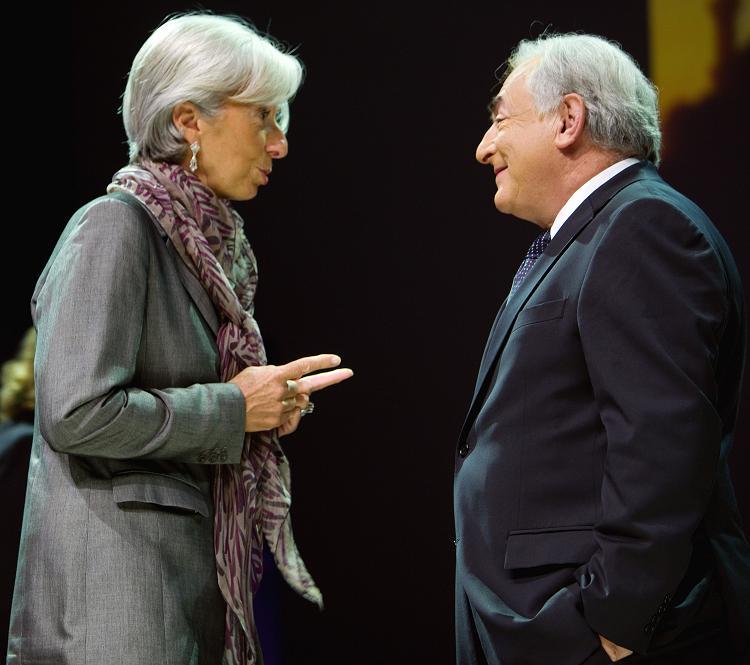 Christine Lagarde candidate au FMI