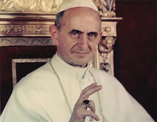 El cardenal Montini dirigió la Iglesia Católica entre 1963 y 1978