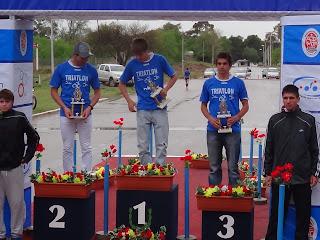 Cipoleños coparon el podio en distancia sprint