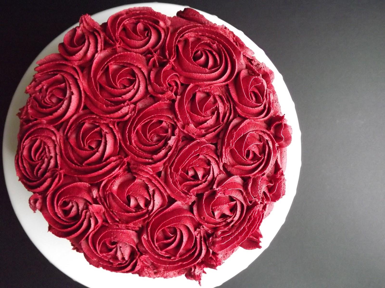 Valentines bouquet of roses cake izmirmasajfo