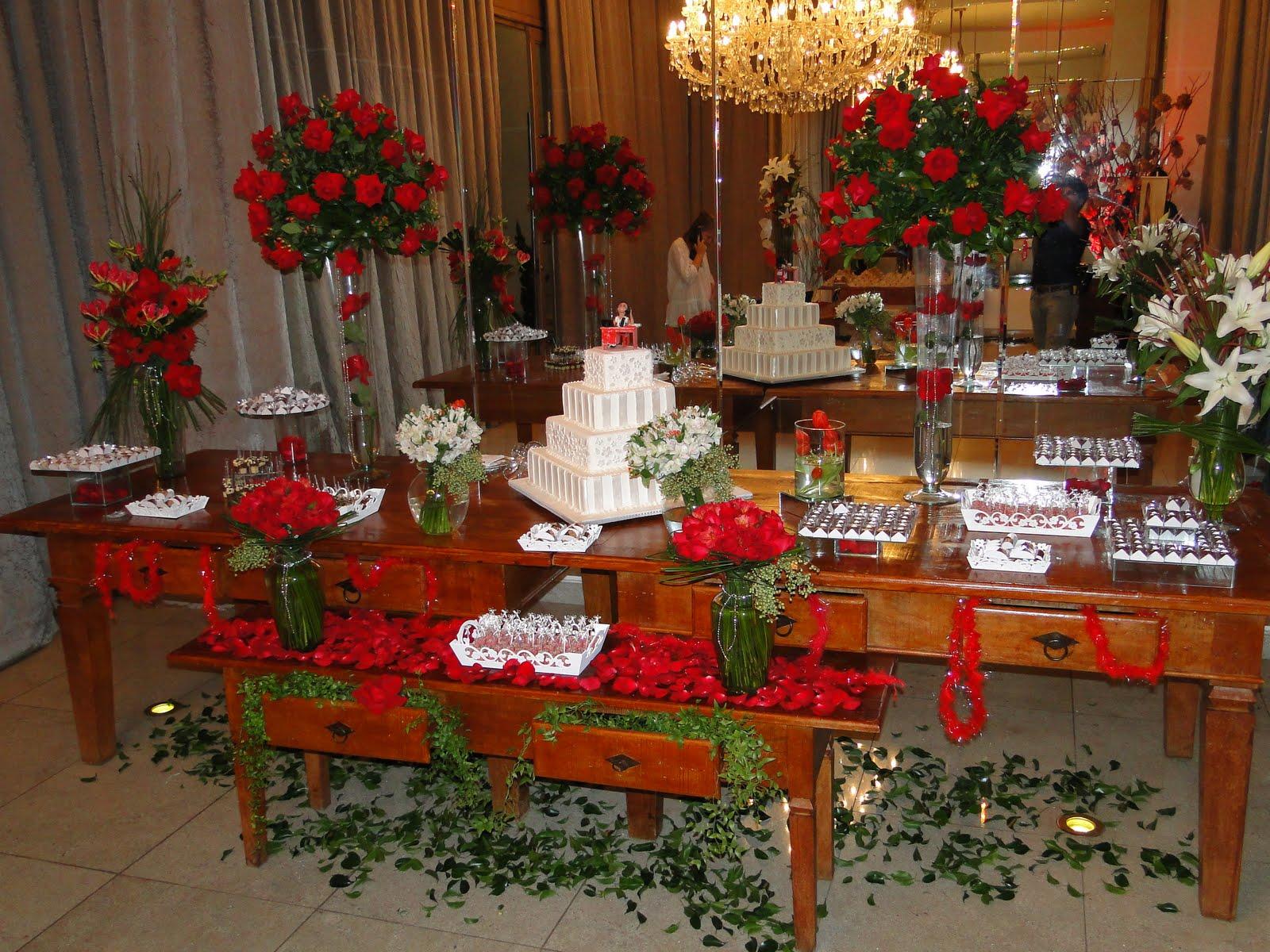 Noiva Objetiva!: Porque eu gosto é de rosas Decoração do salão #B61516 1600x1200