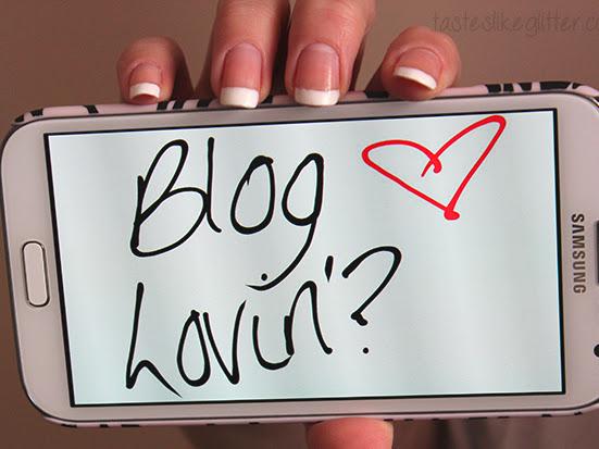 Blog Lovin'?
