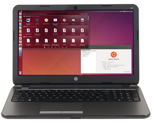 HP Probook 455 G3 Ubuntu