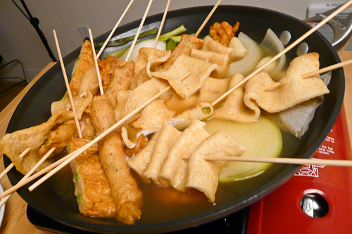 Pin korean food photo spicy stir fried fish cakes for Korean fish cake