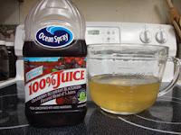 Water Kefir and 100% Juice