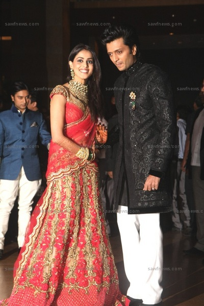 ritesh deshmukh and genelia dsouza wedding dulha
