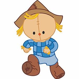 Free clip arts cute baba baby scarecrows free vector clip arts online