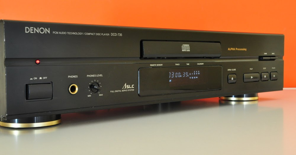 Denon Dcd 735 Cd Player on 2 channel line output converter
