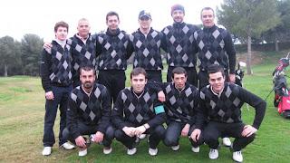 franciac Pitch & Putt 1era. Divisió Interclubs FCPP 2012
