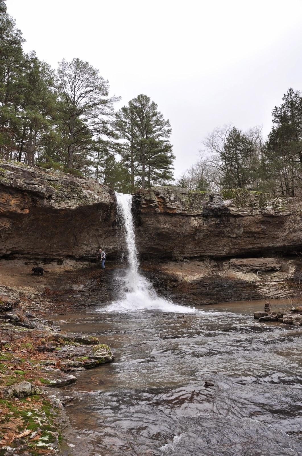 Rick s hiking white oak creek falls polyfoss area