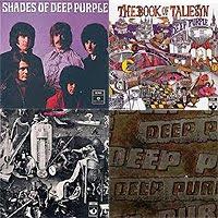 tres primeros discos de Deep Purple