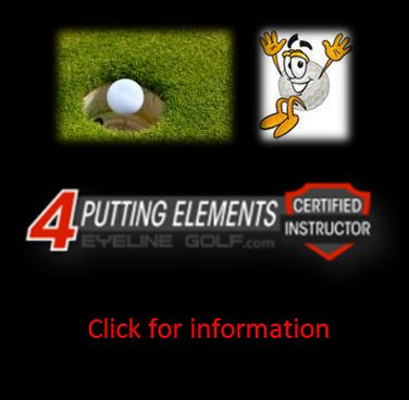 "Eyeline Golf Certified Instructor of the ""4 Putting Elements"""