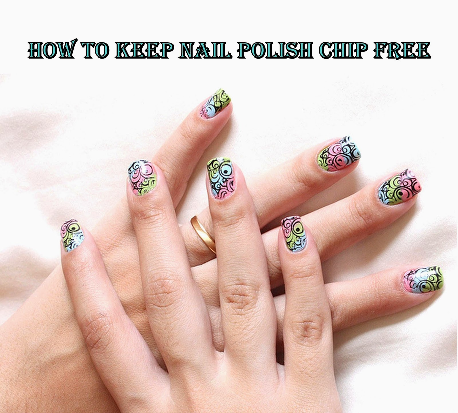 Younique by Kristen Morton: How to Keep Nail Polish Chip Free