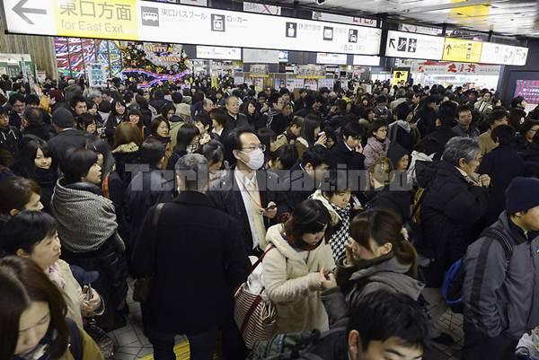 Gambar Gempa Jepang