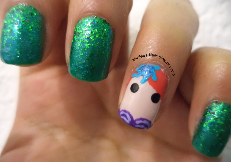 MiriNails: #SummerNails: Sirena