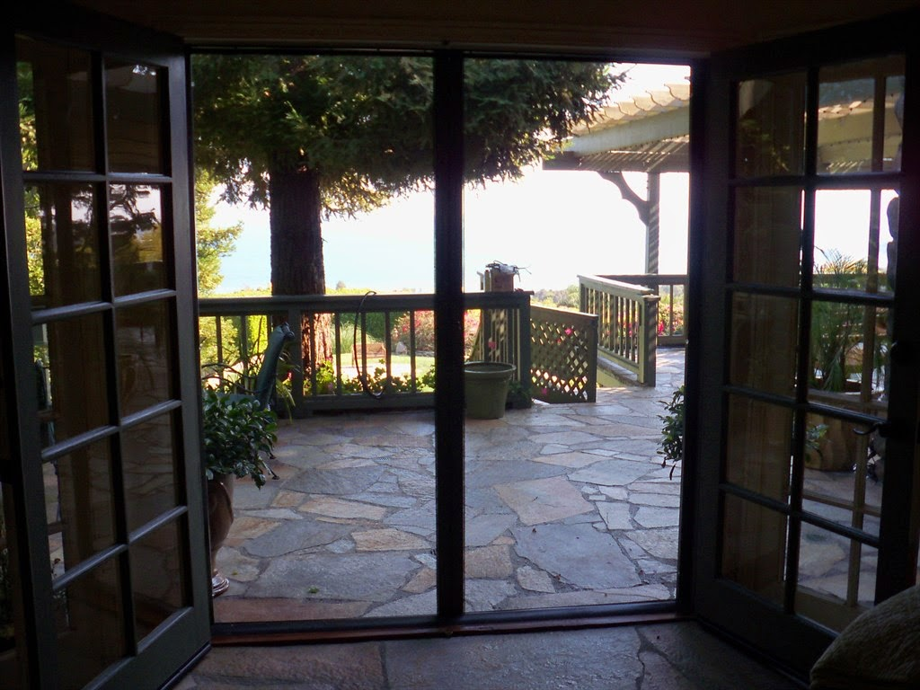 the beautiful patio screen door photograph