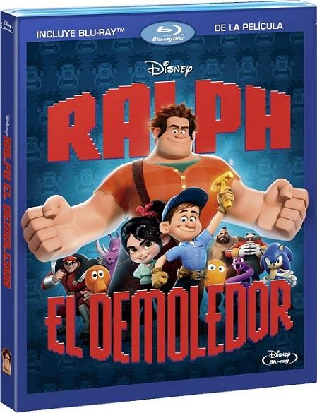 Wreck-It Ralph (Ralph, El Demoledor) (2012) 1080p BluRay REMUX 22GB mkv Dual Audio DTS-HD 7.1 ch