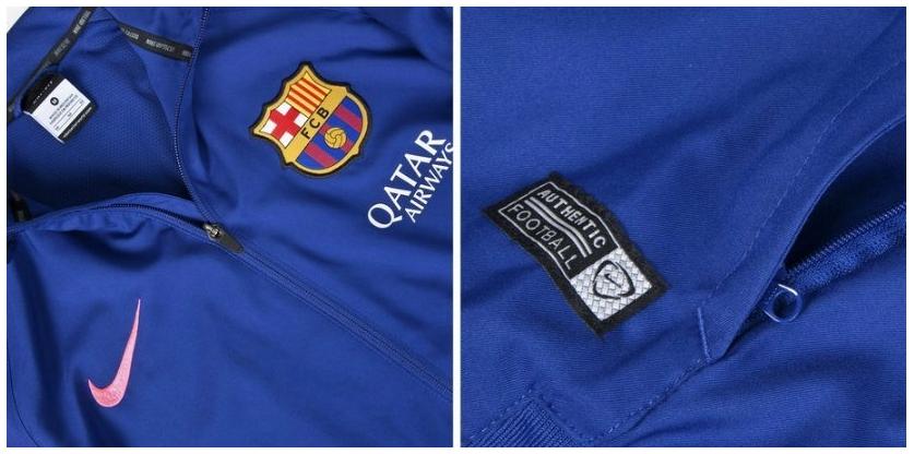 Barcelona Woven Warm Up Tracksuit Official 2014–2015 Grade Oris